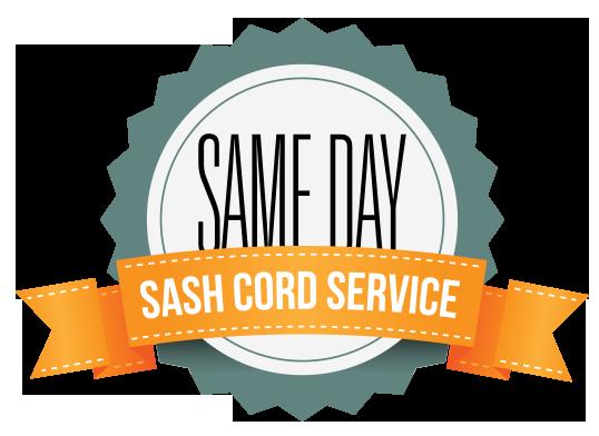 same day sash cord service